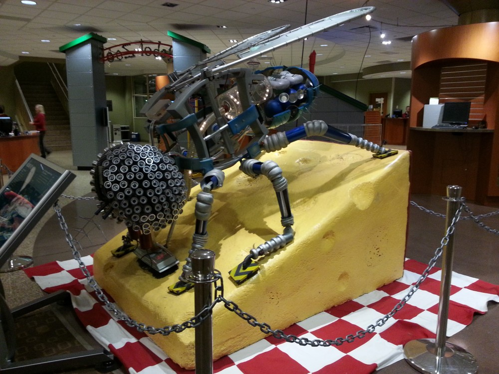 Fly at The Robot Zoo