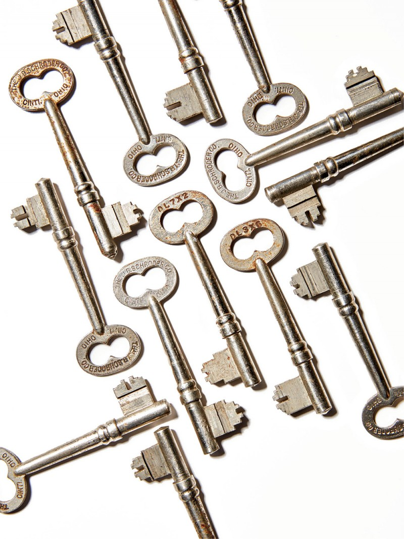 J. B. Schroder Co. keys