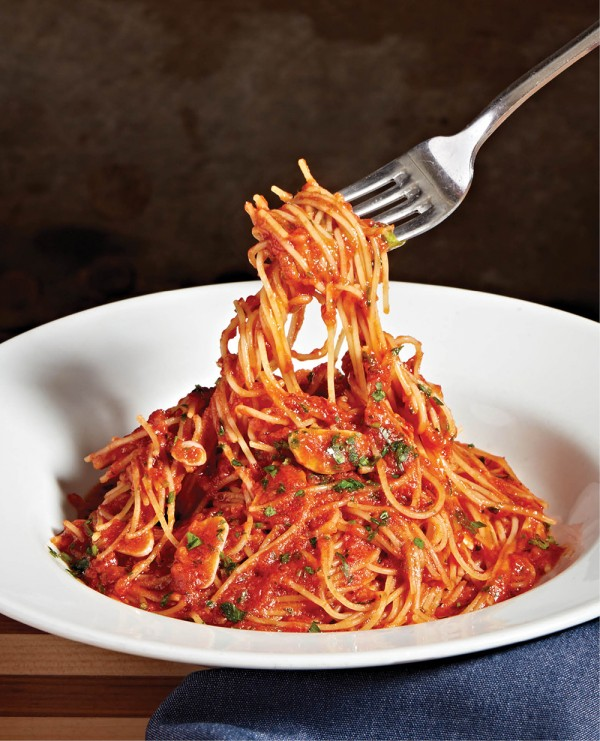 Spaghettini Arrabbiata