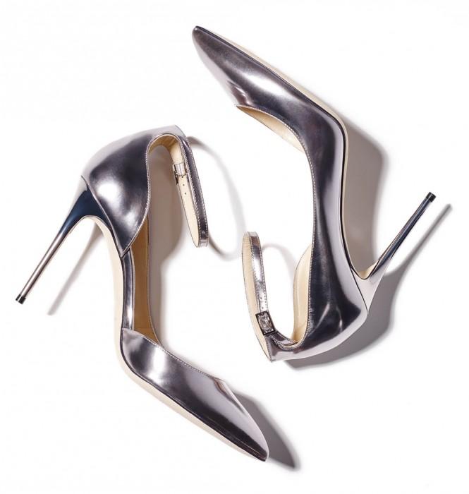 Splurge on these heels that shine