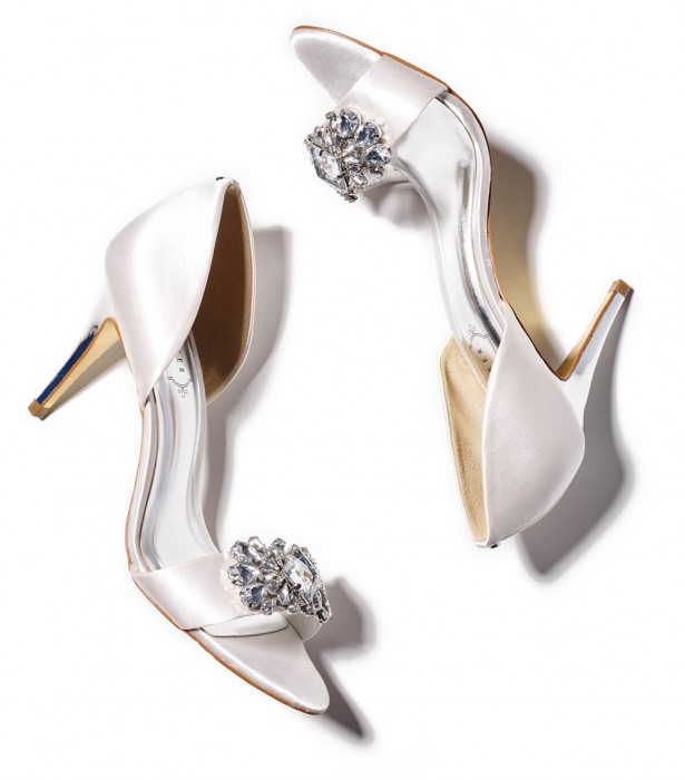 Splurge on an open-toe with bling