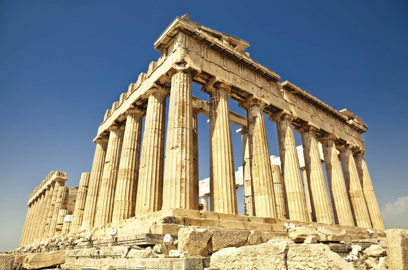 Ancient sites in Athens