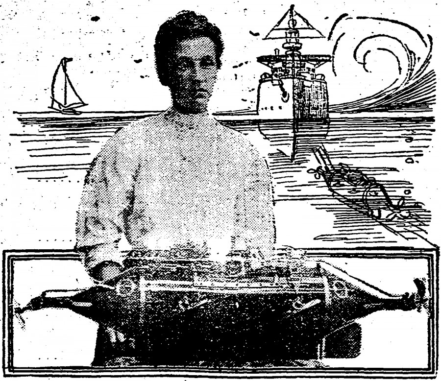 Annie Stanley's submarine caught the eye of the vaudeville public but not the interest of the world's military powers.