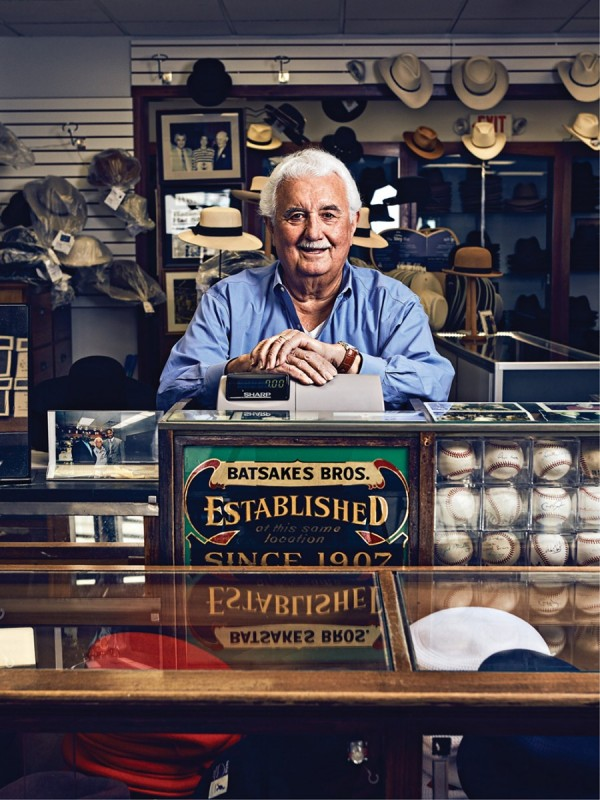 Gus Miller, Batsakes owner, proprietor, and hat maker