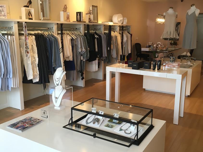 Ossie Boutique's Racks of Designer Fashions