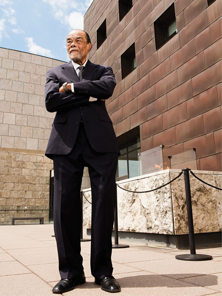 Power Broker: Carl B. Westmoreland, photographed on April 26, 2016, at the National Underground Railroad Freedom Center.