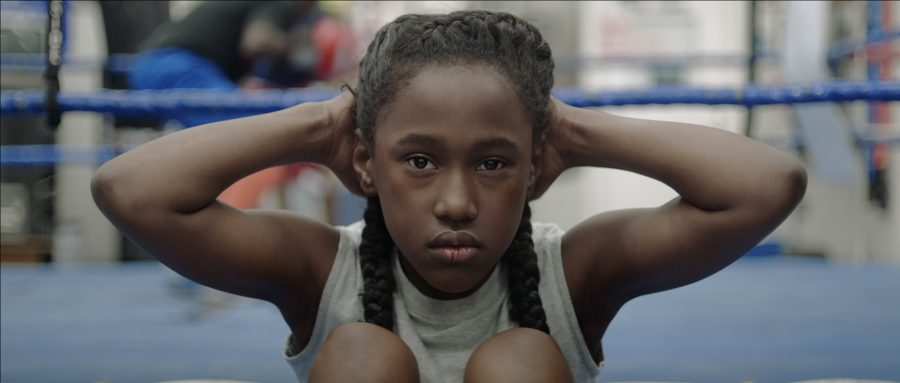 Royalty Hightower, who was a 9-year-old Q-Kidz dancer when she was cast in the film's lead role.
