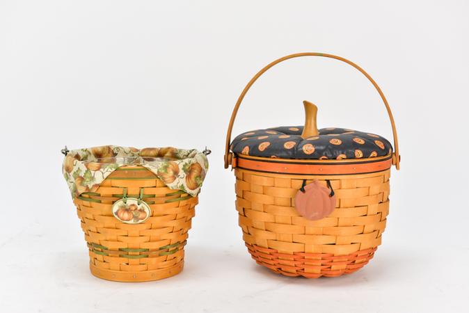 Longaberger Basket Pumpkin Print Collection