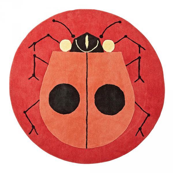 Ladybug rug, $299, Land of Nod, landofnod.com