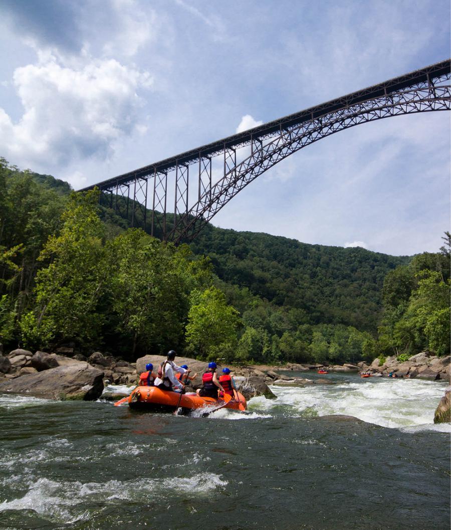 New River Gorge Bridge at New River Gorge National Park