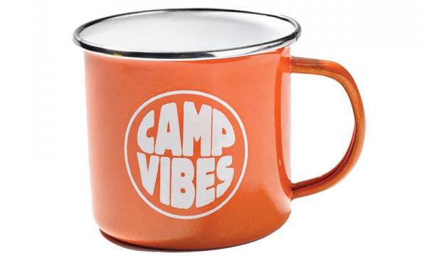 A durable and lightweight enamel mug is the outdoors-y version of your favorite cup, perfect for bug juice or the adult beverage of your choice. Poler Camp mug, $12.50, Park + Vine, parkandvine.com