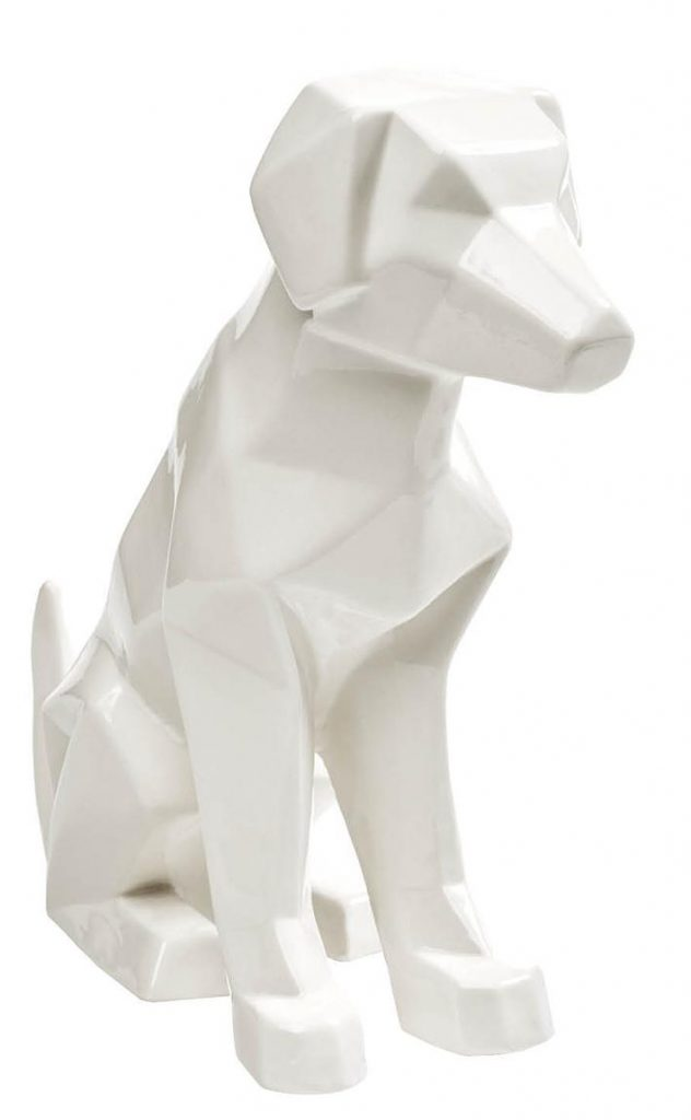 Sometimes man's best friend could stand to do less shedding all over the couch and more fitting in with your modern decor. At about 13 inches tall, this little geometric guy (made of handcrafted porcelain) will do the job, no walks required. IMAX Winslow Porcelain Dog, $55, Elm & Iron, elmandiron.com