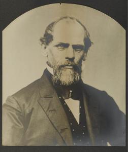 John Augustus Roebling, photographed in 1866-67.