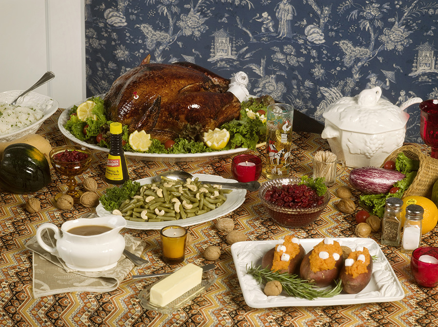 Thanksgiving 1984 (table), 2009 C-print 34 x 45 inches