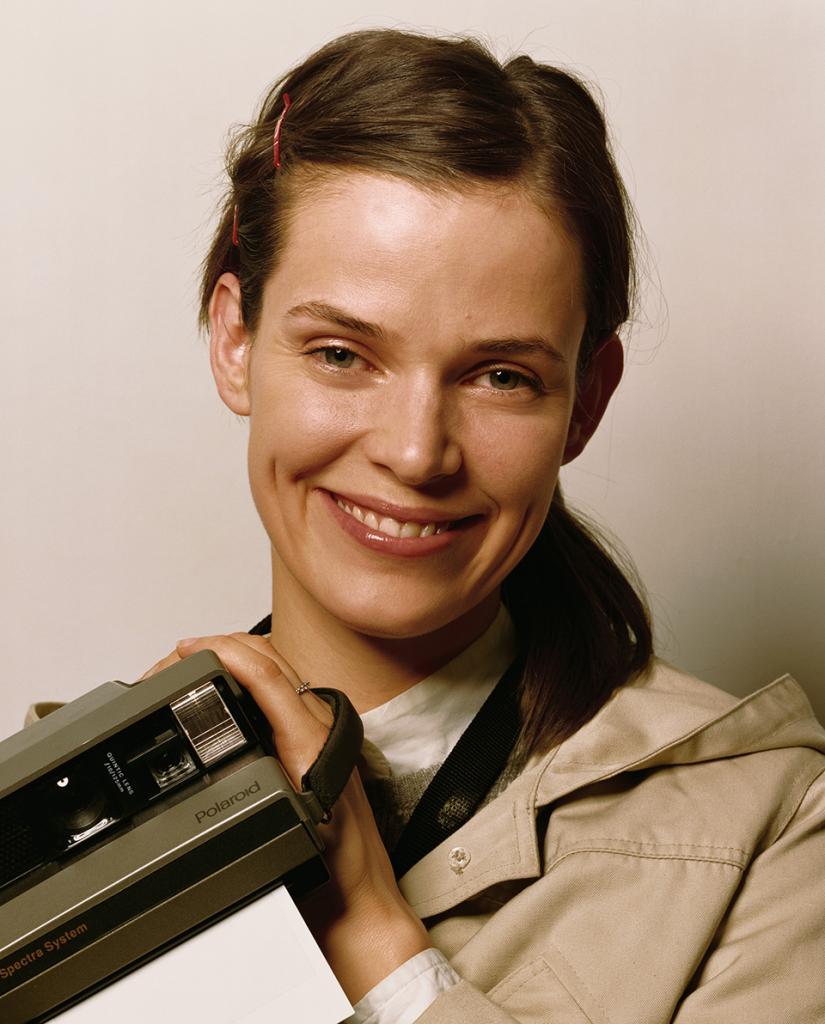 Nancy with Polaroid, 2003-2006 C-print 40 x 32 inches