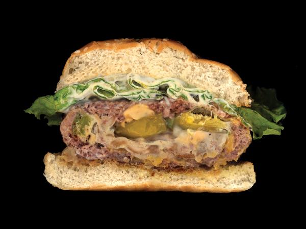 Big Lene Stuffed Burger
