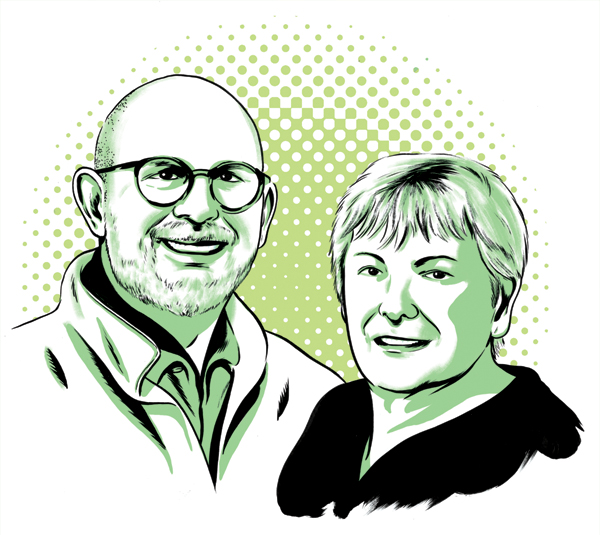 Sherry and Darryl  McKenney