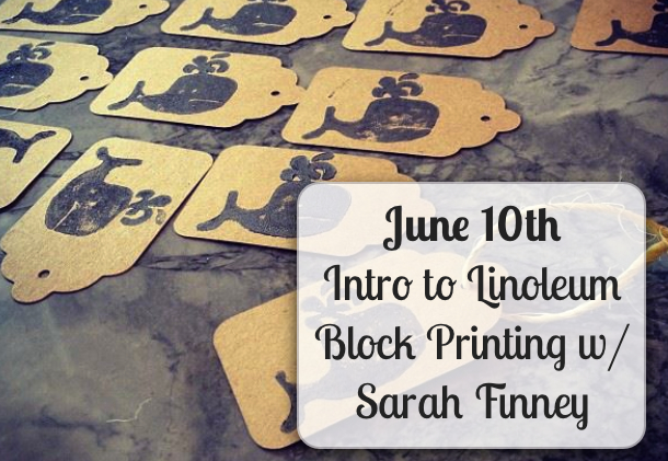Learn Linoleum Block Printing