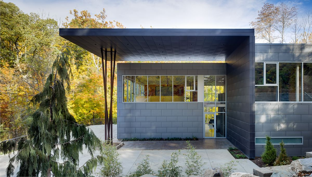 Heavy metal modernism in Symmes Township The