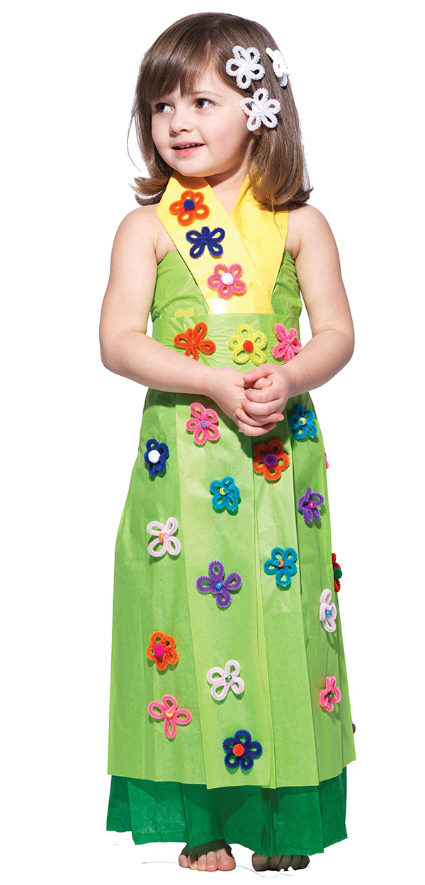 """""""I like the green one best because it's really springy!"""" says an ebullient, dancing Sydney. We agree."""