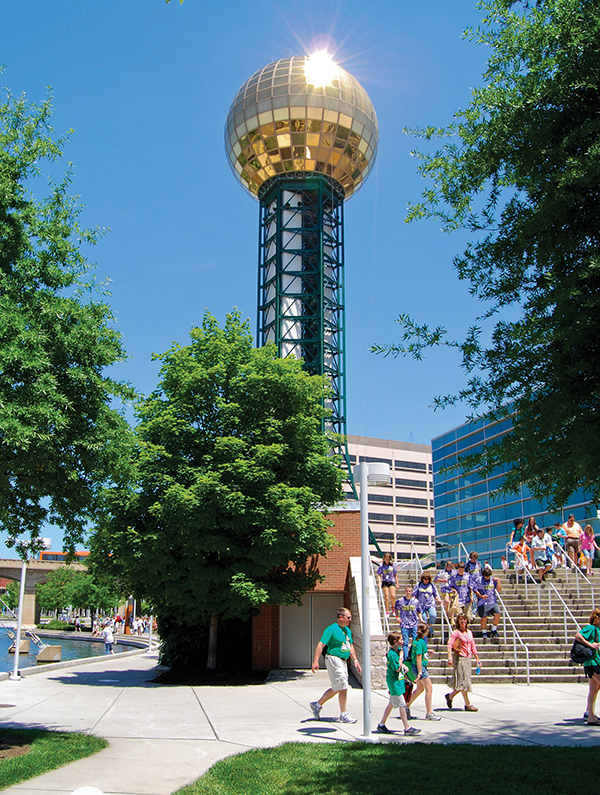 Knoxville's Sunsphere
