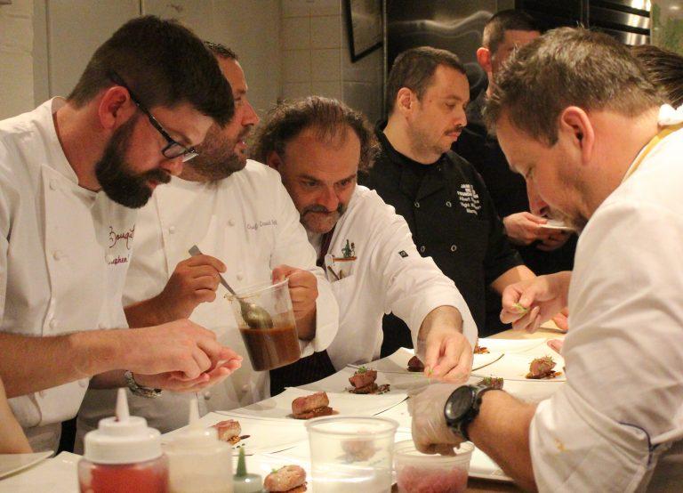 Spotted: Cincy in NYC James Beard Dinner