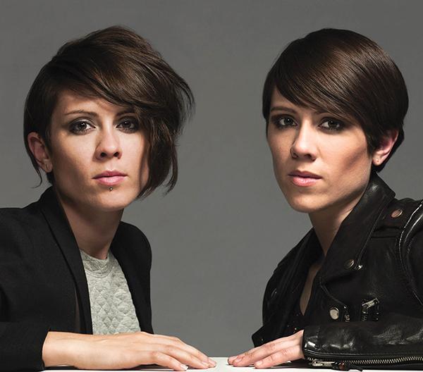 Tegan and Sara Perform Heartthrob Hits