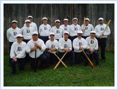 Old-Timey Baseball at Heritage Village