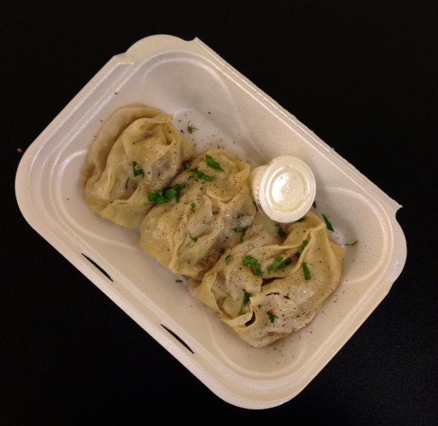 Oasis Grill's Manti Dumplings
