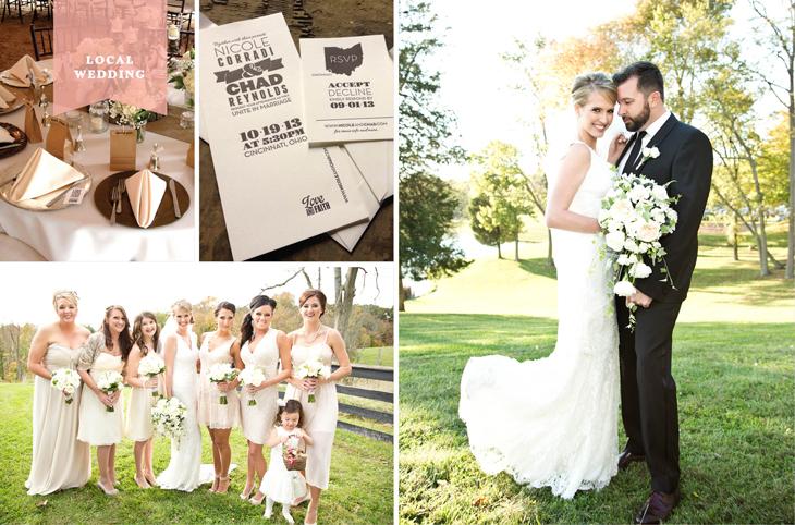 Local Wedding: Nicole Corradi & Chad Reynolds