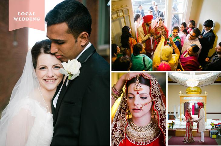Local Wedding: Angela Neyer & Sanjeet Grewal