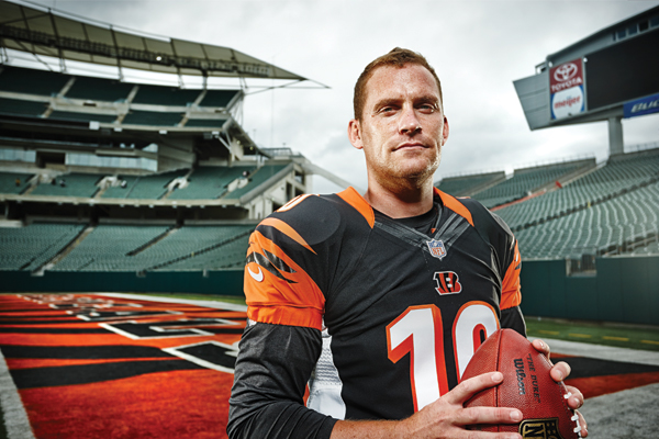 Homegrown Bengals Punter Kevin Huber