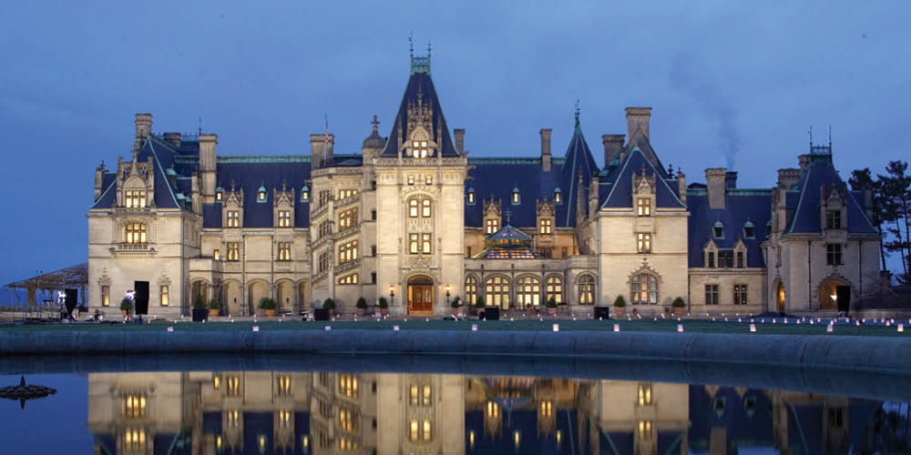 Get lost in style at the Biltmore Estate--its square footage totals four acres.