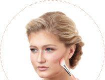 Cincinnati Wedding Makeup contouring