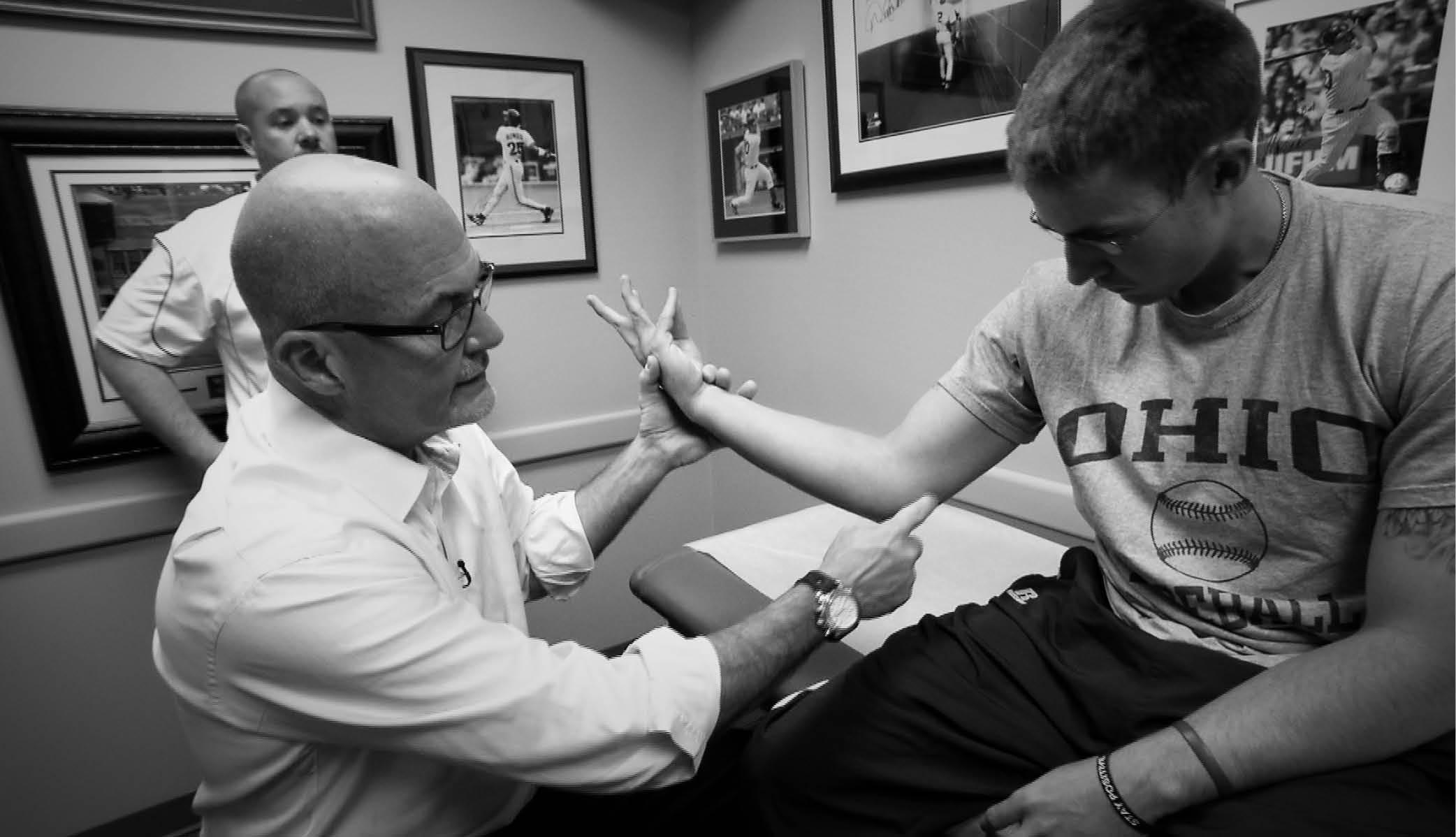 Kremchek treating patients at Summit Woods.