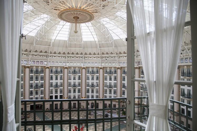 West Baden Springs Hotel Balcony Atrium View