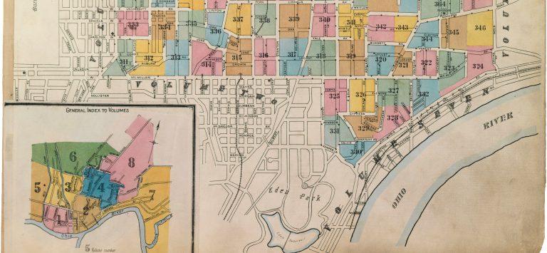 Sanborn Maps Reveal Cincinnati's Evolving Infrastructure