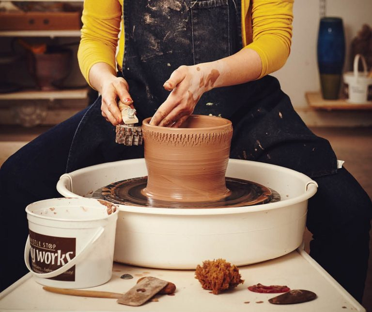 Reboot DIY: Spin The (Pottery) Wheel
