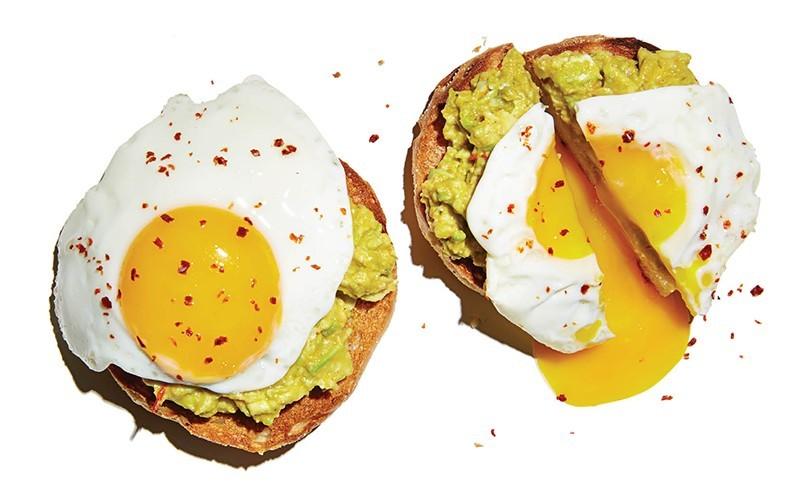 Avocado and Fried Egg, Dutch's English Muffin, dutchs.squarespace.com