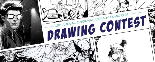 Calling All Artists: 3rd Annual Cincinnati Library Comic Con Drawing Contest