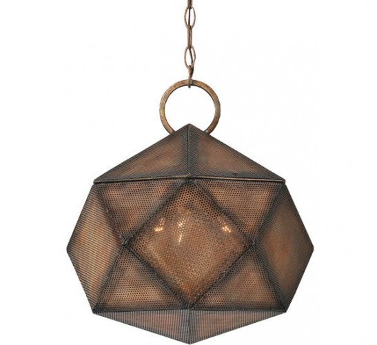 Uttermost Majano three-light pendant, $378, HighStreet, highstreetcincinnati.com