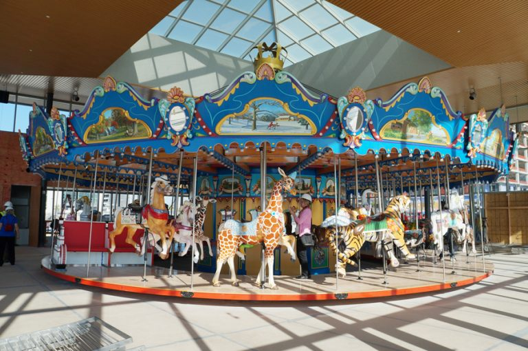 Carol Ann's Carousel Will Soon Be Going 'Round