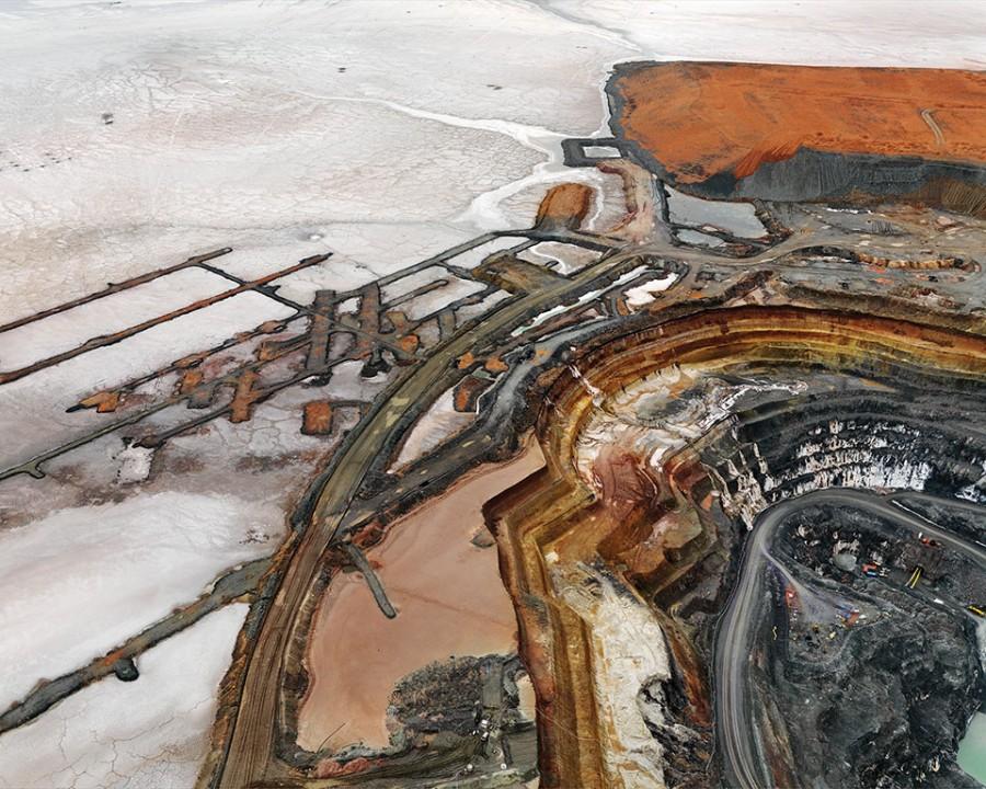 Silver Lake Operations #14 (Lake Leroy, Western Australia), 2008. Chromogenic Print. 48 x 60 in. (121.9 x 152.4 cm)