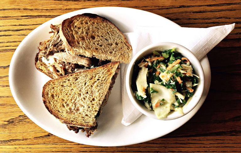 Try This: The Braised Beef Sandwich at Melt Eclectic Cafe