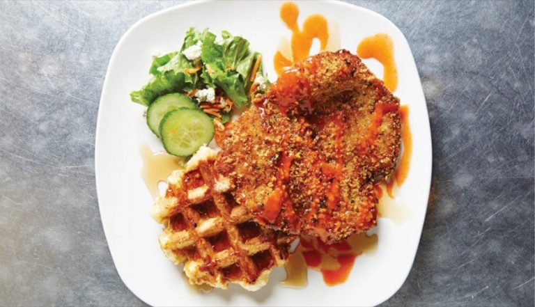 Top 5 Chicken and Waffles