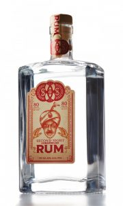 Rum is typically distilled from fermented molasses, which can be either table-grade or blackstrap, depending on the distiller's desired result (pristine or earthy).