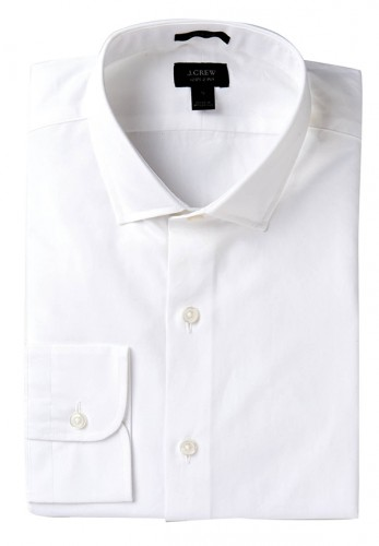 J. Crew Ludlow spread-collar shirt with convertible cuffs, $98, jcrew.com