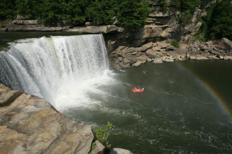 Worth The Drive: White Water Rafting at Cumberland Falls