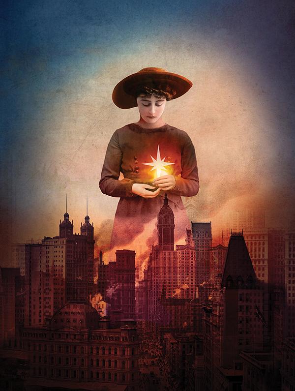Cincinnati Opera's 2015 Season Illustrations, Morning Star