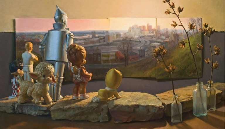 Jonathan Queen Paints With Toys